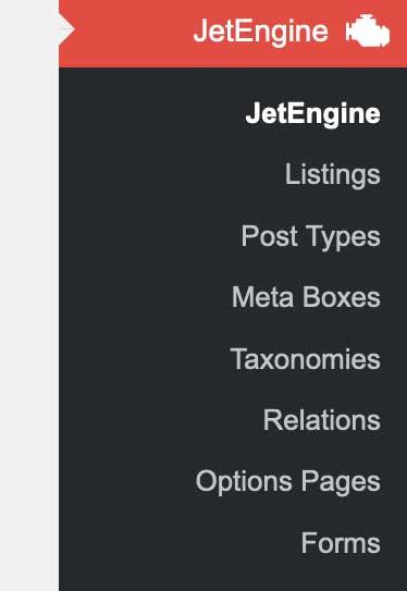 Jet Listing