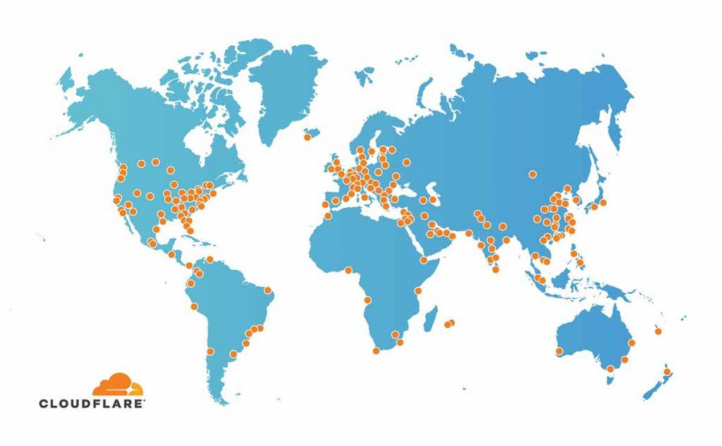 טיפים לשיפור מהירות אתר ווקומרס - שימוש ב cloudflare